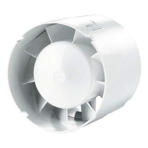 Rohrventilator/Einschublüfter mit Nachlauf, Kugellager - Ø 100 mm