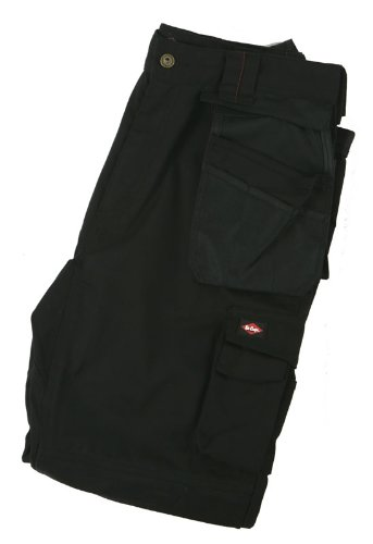 Lee Cooper LCPNT210 Pantalones, Grey/Black, 38