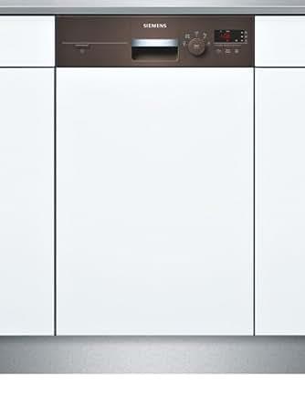 Siemens SR55E402EU Lave-vaisselle 46 decibels A+ Marron, Gris, Blanc