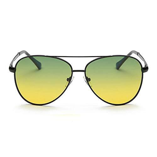 Sportbrillen für Nachtwanderungen Nachtsichtbrillen Tag und Nacht kombinierte Nutzung Nachtfahrten, Nachtfischen, Nachtfahrten, Brille (Color : Schwarz, Size : Kostenlos)