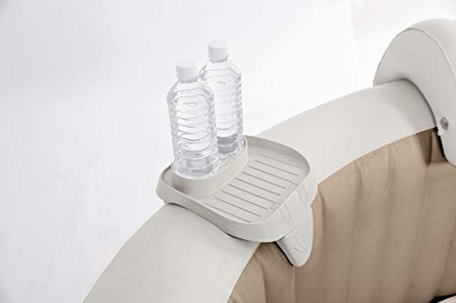 Whirlpool-flasche (Intex Whirlpool Spa Becher Flaschen Halter Tablett 26x22x18cm)