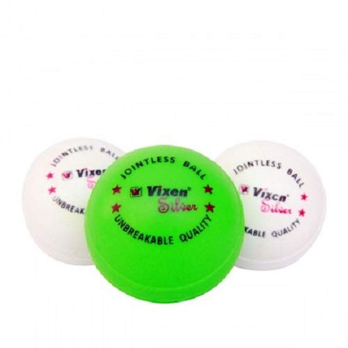 Plastic Cricket Ball- Pack of 3 (Unbreakable - Multicolour)