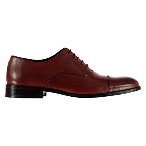 Firetrap Herren Arundel Derby Schuhe Braun 42