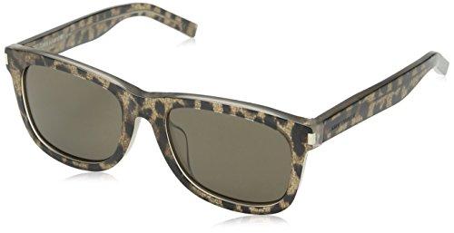 Preisvergleich Produktbild Yves Saint Laurent Unisex Sonnenbrille SL 51/F PBA,, Gr. One size,Grau (Tortoise Shell)