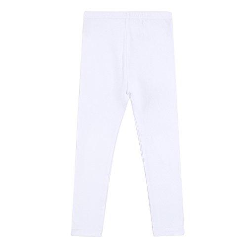 Vaenait Baby 100% Baumwolle Baby Jungen Hosen Simple Pants White S