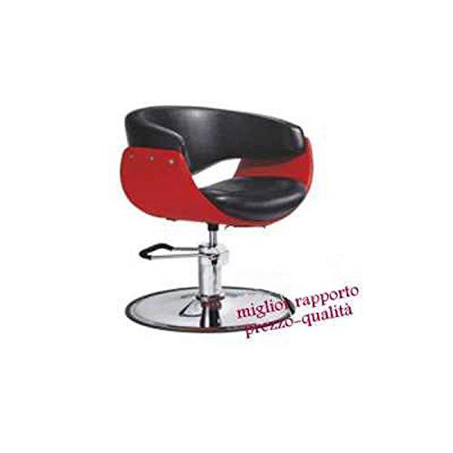 Sedia poltrona 8928 parrucchiere professionale mod.ball p alzabile