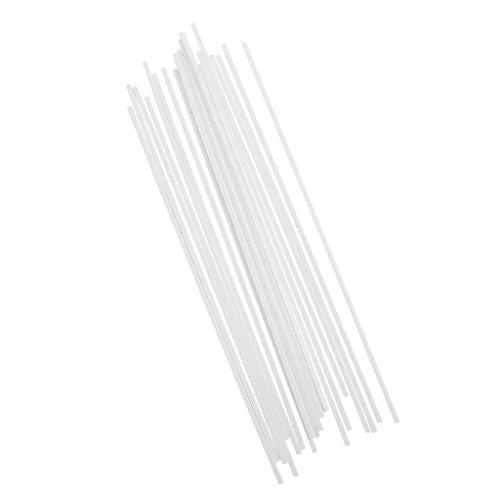 20 Stück Kunstoff Stange Stab DIY Architekturmodell Baustoffe