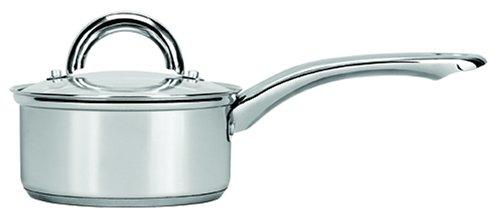 Range Kleen Stainless Steel Covered Sauce Pan, 1-Quart by Range (1 Quart Pan)