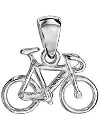 1001 Bijoux - Pendentif Vélo de course en argent