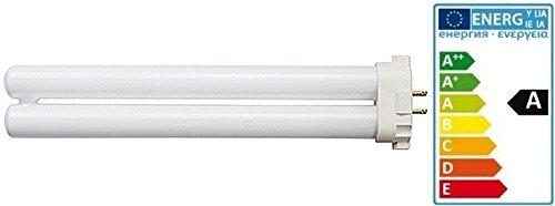 Ersatzleuchte FPL27EX-D, 220 Volt 50 Hz, mit 4 Stiften, Energieeffizienzklasse A, Tageslichtlampe, Wellness, Leuchte AND_PLL_27W Leuchtmittel 27 Watt für Ionische Tageslicht Schreibtischlampe und 2in1 Luftreiniger Luftionisierer Luftionisator Ersatzbirne