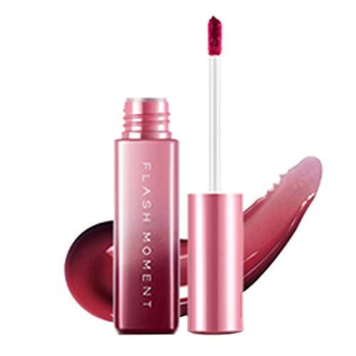 Mirror Liquid Lip Gloss Langlebig Wasserdicht 24 Stunden halten Lipgloss-Glanz und...
