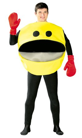 Pacman Kostüm Kinder - Disfraz de comecocos - Standard