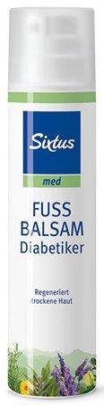 Sixtus Fußbalsam für Diabetiker regeneriert trockene Haut