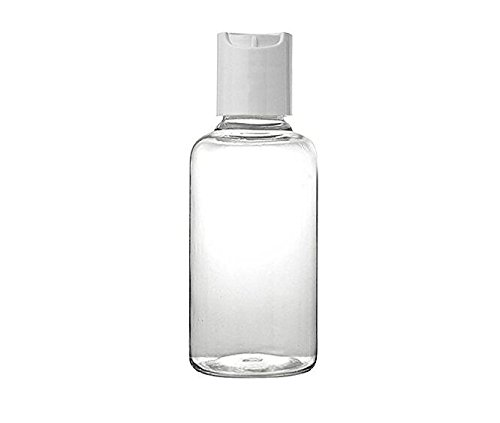10PCS 10ML Empty Transparent Refillable Bottle Cosmetic Sample Emulsion Liquid Shampoo Container with White Cap