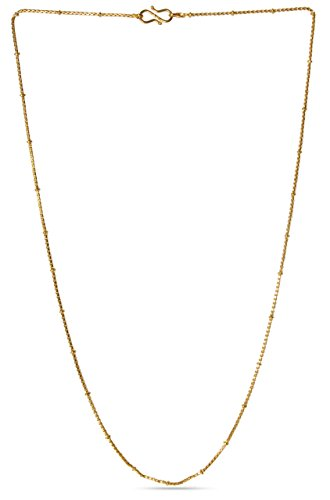 Golden Nuggets Chain  available at amazon for Rs.179