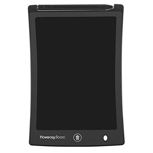 Smart 8,5 Zoll LCD-Schreib-Tablet, elektronisches Schreibblock, tragbares Ruff-Pad, E-Write-Howeasy Board 21,6 cm LCD-Schreib-Tablet Kinder Graffiti-Pad Grafiktafel 150.00 * 122.00 * 7.00 Schwarz Smart-lcd-pad