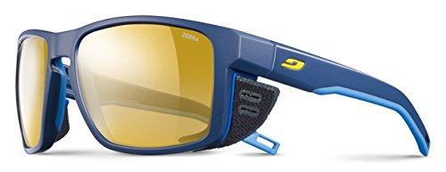 Julbo Shield Sonnenbrillen, Bleu/Jaune, one Size