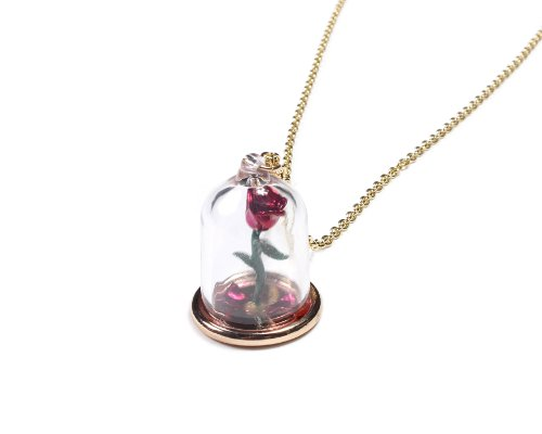 Disney Beauty und The Beast Rose Glas ()