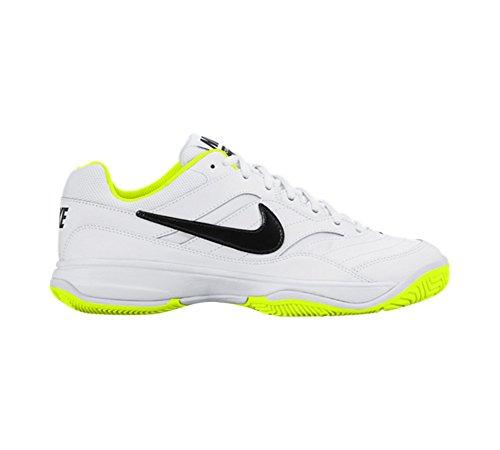 Nike Wmns Court Lite, Scarpe da Tennis Donna Blanco (Blanco (white/black-volt))