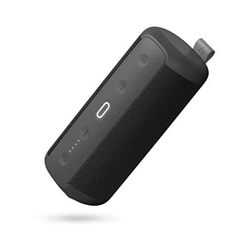 HAVIT Bluetooth Lautsprecher Box, IPX7 Wasserdicht, TWS Speaker,14 h Spielzeit für IOS, Samsung, Nexus, HTC, Echo dot und Outdoor Sport Party (30W, Schwarz)