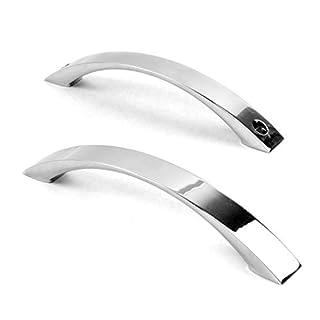 Aquade Door Shower Door Handle Knob Shower Fittings Shower Door Knob Cabinet Handle Door Knob Set Material: Brass Colour: Shiny Chrome Hole Distance: 14514.5cm 16cm x 2cm x 3mm