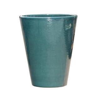 Gartentraum.de Frostsicheres Pflanzgefäß »Amphiro Verde« rund aus Steinzeug in grün