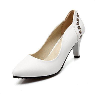 Moda donna sexy sandali scarpe donna Punta rivetto tacchi party di nozze & abito da sera Stiletto Heel donne pompa Black