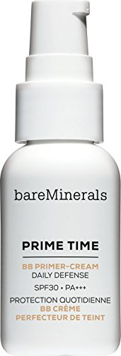 bareMinerals Prime Time BB Primer-Cream Daily Defense Lotion SPF30 30ml Tan