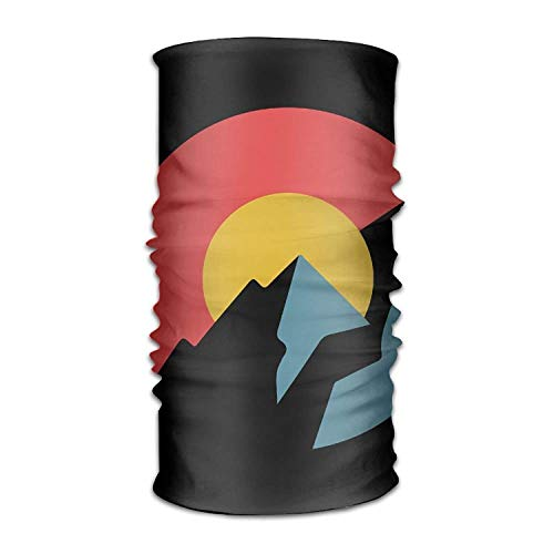 Flag Headwear Bandanas Seamless Headscarf Outdoor Sport Headdress Running Riding Skiing Hiking Headbands ()
