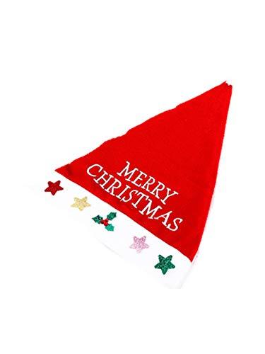 Weihnachten Kostüm Hüte Star Weihnachten Hat Schneeflocke Schneemann Hut Dekor Hüte zum Kinder Erwachsene Jahr Geschenke Menge ()