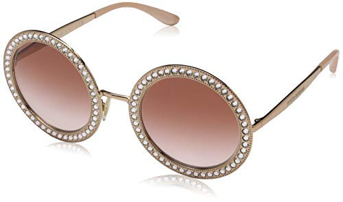 Dolce & Gabbana Damen 0DG2170B 129813 51 Sonnenbrille, Pink Gold/Pinkgradient