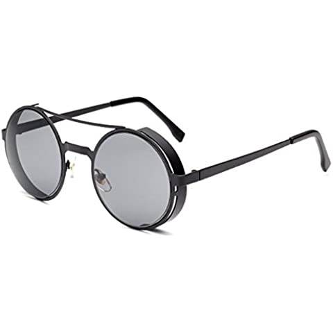 Unique Steampunk Sunglasses Novelty Funny Hippie Sunglasses Circle Hip Hop Styles Sunglass