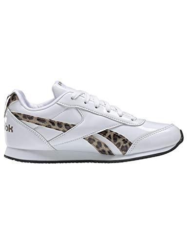 Zapatillas Niños Reebok Royal CLJOG Blancas 34 Blanco