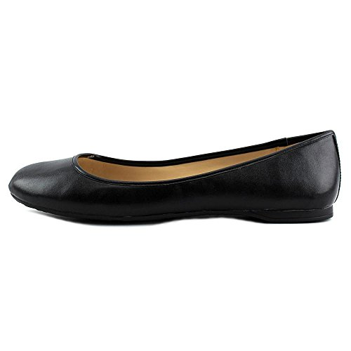 Nine West Fedra Synthétique Chaussure Plate Black
