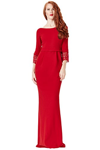 JU FASHION Abendkleid SOFIA, rot Rot