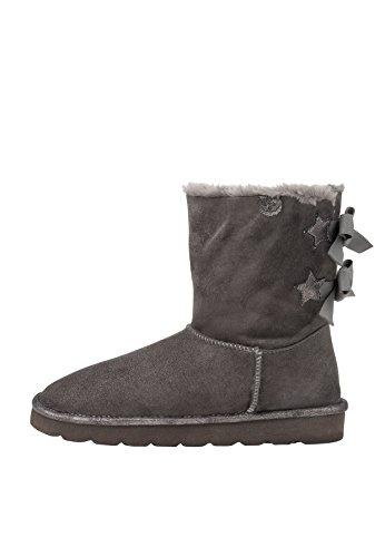 Fritzi aus Preussen Damen Fine Back Tights Fur Boot Stiefeletten, Grau (Grey 11), 39 EU -