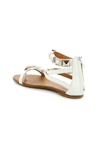 Go Tendance ,  Sandali donna Bianco (bianco)
