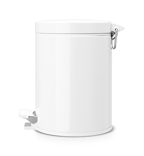 Brabantia pedal bin cubo de basura 5 litros cubo - Cubos de basura extraibles ...
