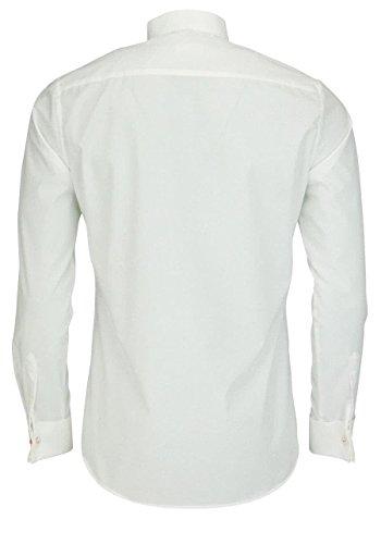 ETERNA long sleeve Shirt SLIM FIT Chambray uni Champagne