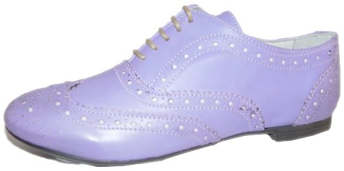 Aces of London Cal 3236, Ballerines femme Violet - Violett (Violet)