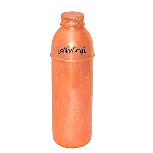 Asia Craft New Bisleri Bottiglia di rame con coperchio