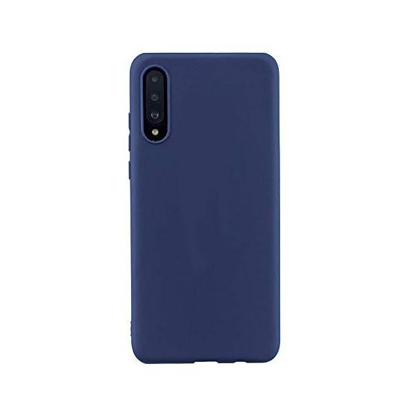 Oihxse Mate Líquido de Silicona Gel Funda - Compatible con Samsung Galaxy A50 Ultra Fina Suave Protección Carcasa… 1