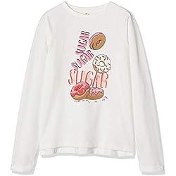 ZIPPY Zg0203_456_12 Sweat-Shirt, Blanc (11/4201tcx/Cloud Dance 548 1022682), 14 Ans (Taille Fabricant: 13/14) Fille
