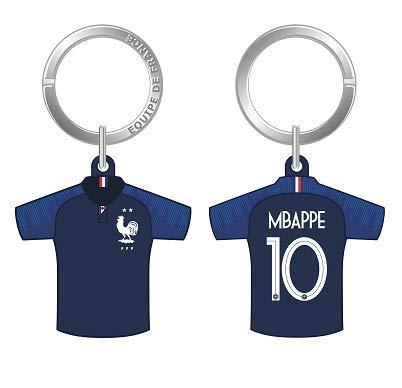 huge selection of b0924 5bf29 Fédération Francaise de Football FFF - Keyring Jersey Number 10 - Mbappé