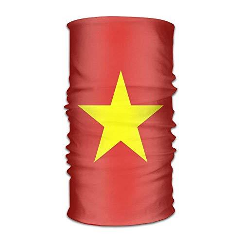 Preisvergleich Produktbild Uosliks Flag Of Vietnam Unisex Outdoor Sport Scarf Headbands Bandana Mask Neck Gaiter Head Wrap Sweatband Headwear