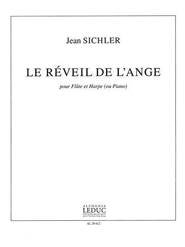 Sichler le Reveil de l'Ange 6'30'' Flte & Harp Book -