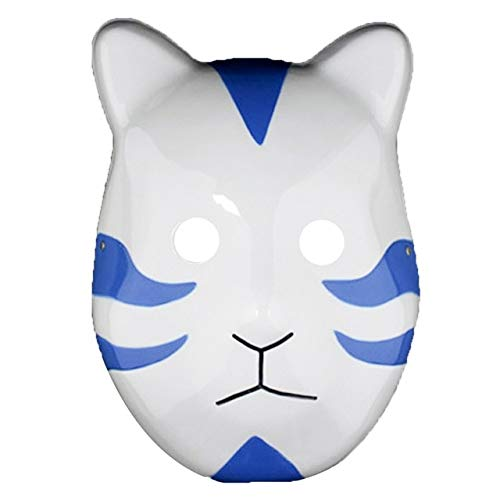 WULIHONG-Maske3 Farbe Naruto Kakashi Anbu Ninja Stil Maske, Kostüm, Cosplay Zubehör, Kostüm Halloween Anime - Kakashi Cosplay Kostüm Billig
