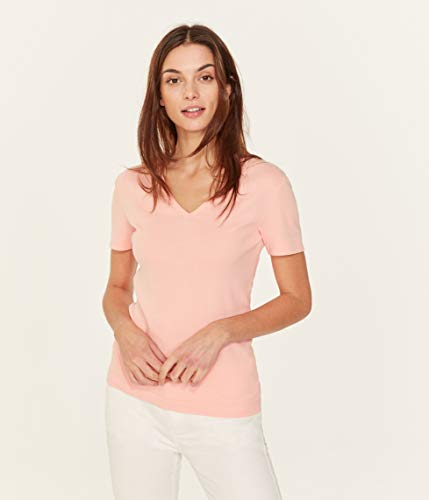 Petit Bateau Damen Tee MC_4888705 T-Shirt, Pink (Rosako 05), Medium (Herstellergröße: M 18ans)