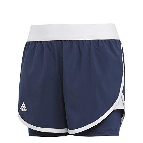 adidas Mädchen Club Shorts Collegiate Navy/White 152 Preisvergleich