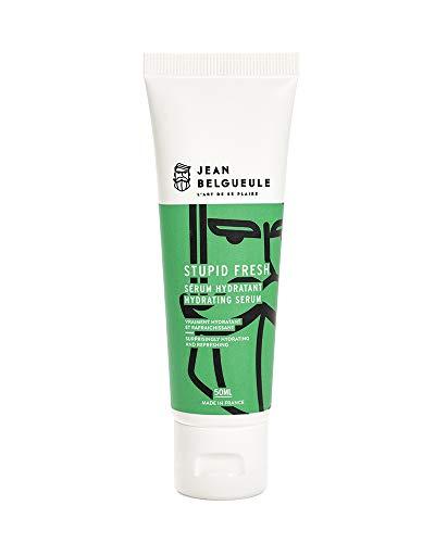 Sérum hydratant Visage Stupid Fresh Jean Belgueule à base d'actifs naturels et bio - Aloé Véra - Huile de Jojoba - Beurre de karité